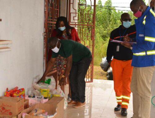 GMT – Gabon : les employés de Comilog en soutien aux personnes défavorisées de Moanda