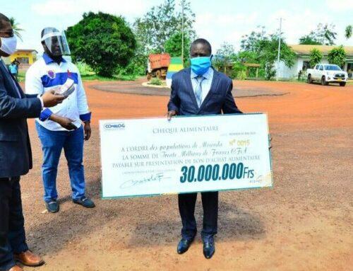 Covid-19: Comilog dégage une enveloppe de 75 millions de FCFA pour les populations du Haut-Ogooué