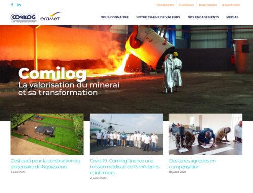 Le site web Comilog fait peau neuve!