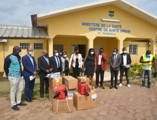 Covid-19: Remise de matériel médical pour les structures sanitaires des provinces du Haut-Ogooué et Ogooué-Lolo