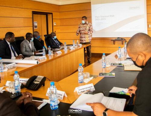 La Comilog présente son nouveau plan triennal RSE aux élus du département de la Lebombi-Leyou