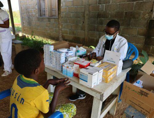 Caravane médicale en faveur des populations de la gare de Moanda
